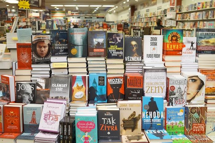 Чешский книжный магазин