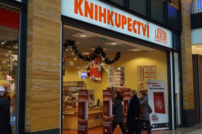 Книжный рынок Чехии